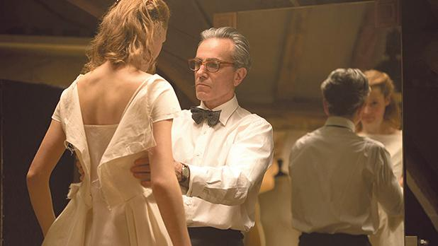 Daniel Day-Lewis plays a couturier for the stars in Phantom Thread.