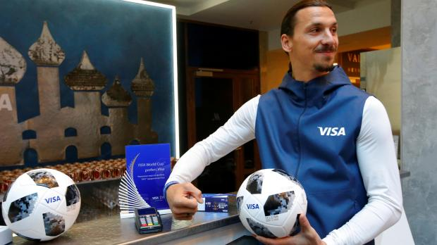Former Sweden striker Ibrahimovic. Reuters file photo
