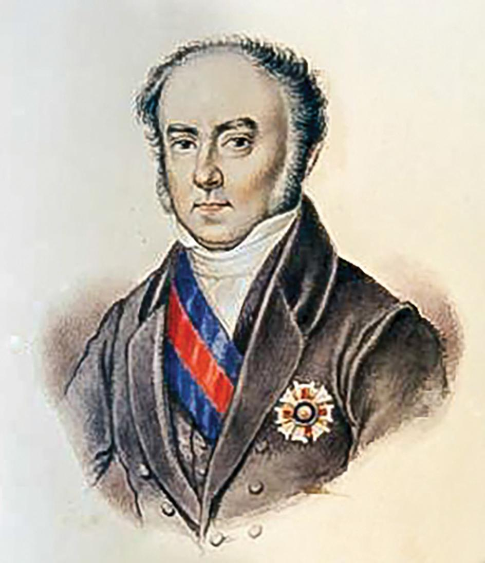 Lieutenant-General Sir Henry Bouverie, Governor of Malta from 1836 to 1843. The 1839 reorganisation of the University and Lyceum came into operation in January 1839 under his governorship.