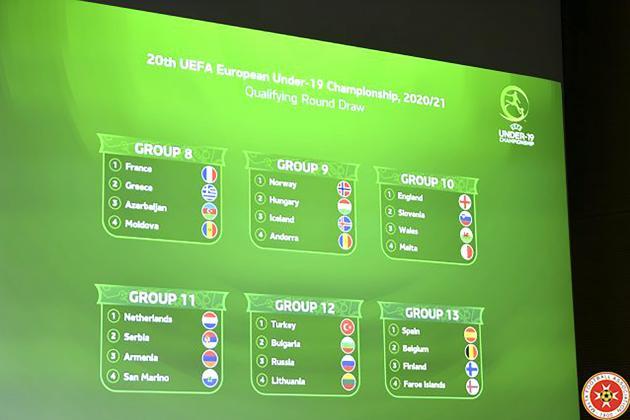 Malta U-19's to face England, Slovenia and Wales