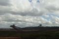 Watch: Helicopter fires on parked vehicles by mistake in Russian war games
