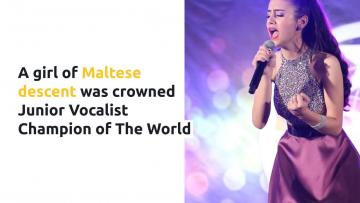 Teenager of Maltese descent wins recording contract