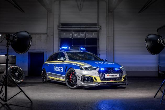 This ABT Audi RS4-R is the police car of your dreams