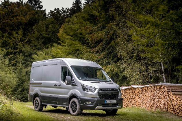 The Ford Transit Trail marries off-road ability with big van life