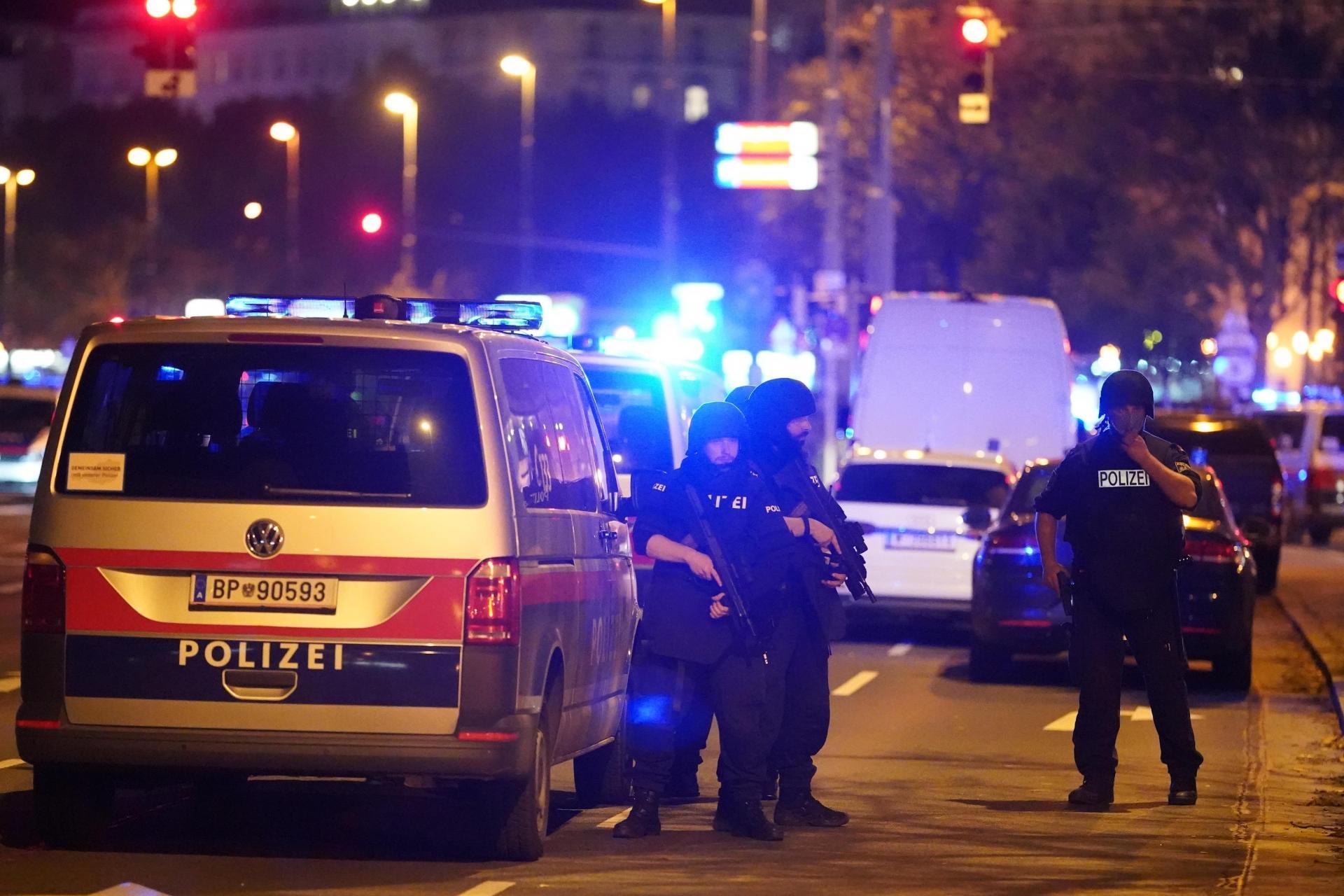 Gunman on the run after Vienna 'terror attack