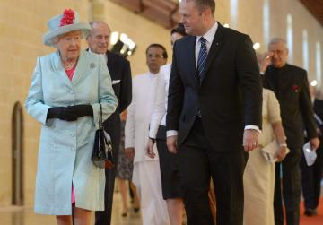 Queen pays tribute to Malta during CHOGM ceremony