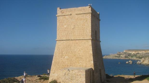 Għajn Tuffieħa Tower. Photo: Joseph Farrugia