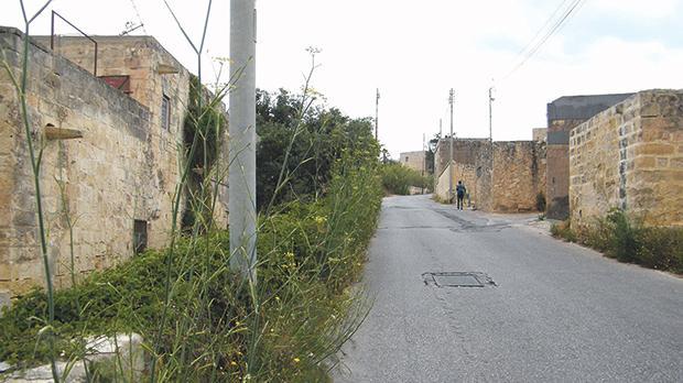 What used to be Triq il-Għaqba.