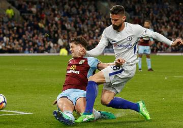 Moses strike gives Chelsea win at Burnley