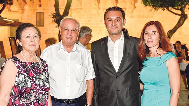 Victoria Mifsud, Paul Mifsud, Cilio Bugeja and Joanne Borg.