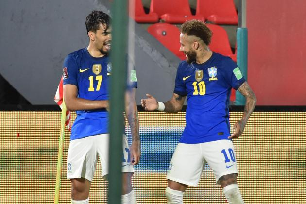 Neymar helps Brazil to perfect six in WC qualifying