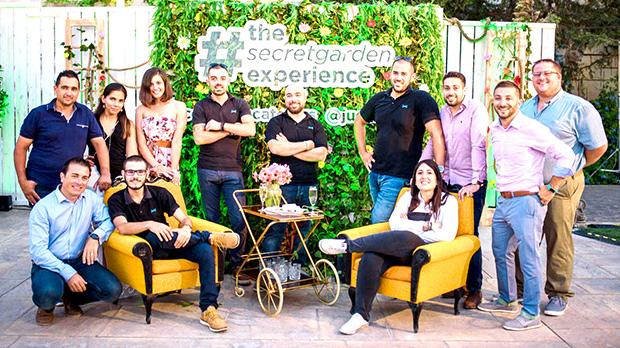 The Jugs Malta team (standing, from left): Edmund Camilleri, Sara Strijbosch-Ali, Shelly De Martino, Ryan Bonello, Ryan Ellul, Ryan Cutajar, Luca Cini, Josef Gafà and Paul Chircop with (seated, from left) Bernard Micallef Cann, Neil Darmanin and Leah Mifsud Mazon.