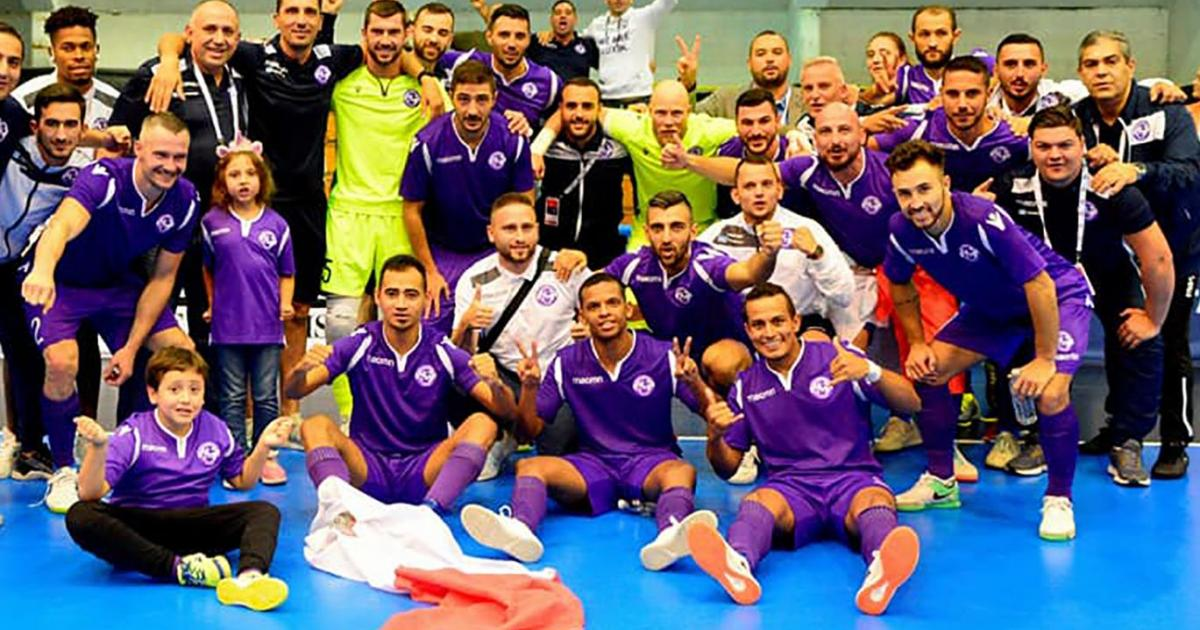 Luxol St Andrews reach Last 32 of Futsal Champions League