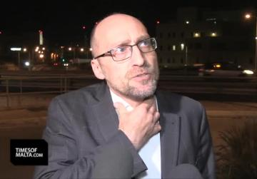 Watch: Jonathan Ferris shows up at FIAU offices following rumoured IT server shake-up