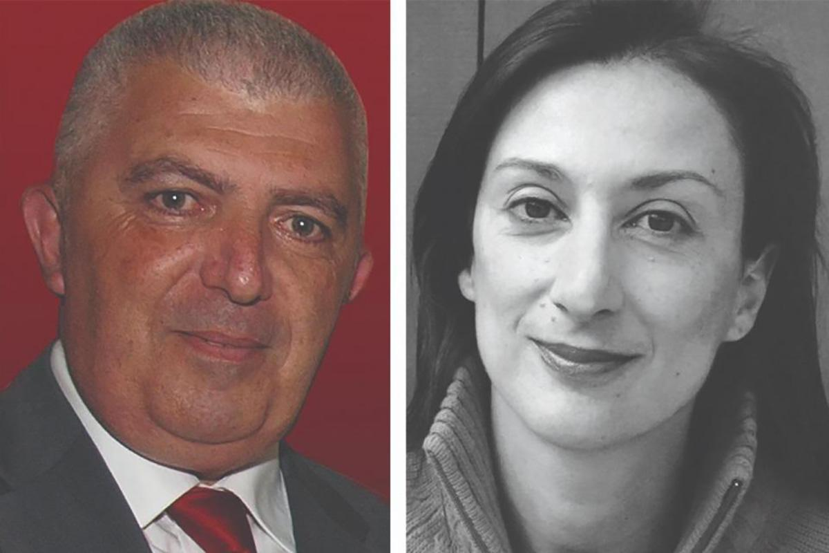 Left: Carmel Chircop. Right: Daphne Caruana Galizia