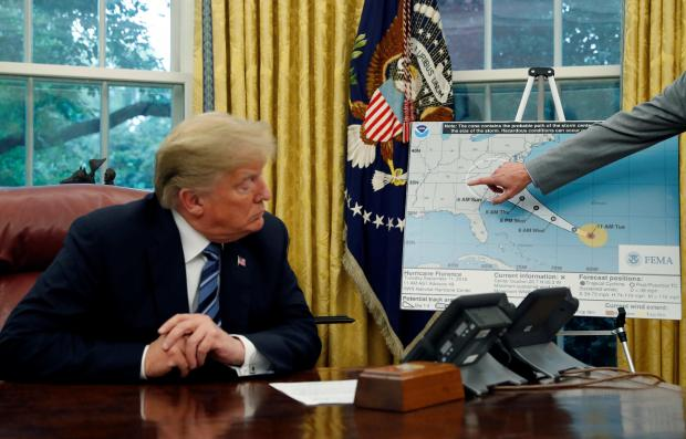 Briefing for President Trump.