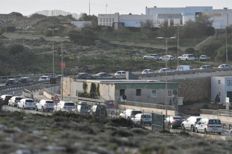 Hundreds flocked to Gozo for the New Year.Photo: Jonathan Borg