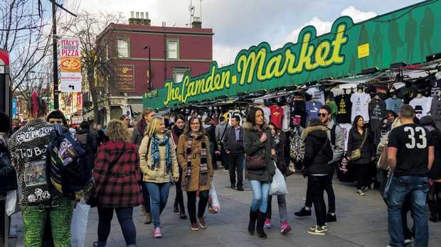 Camden Town The Alternative Shopping Venue In London