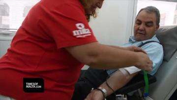 Watch: Gay men will be allowed to donate blood as of next year | Video: Jonathan Borg