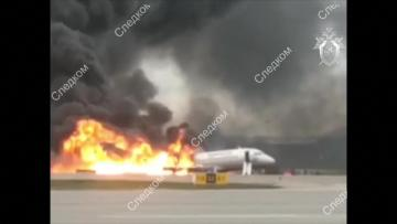 41 dead as Russian plane bursts into flames on landing | Video: AFP