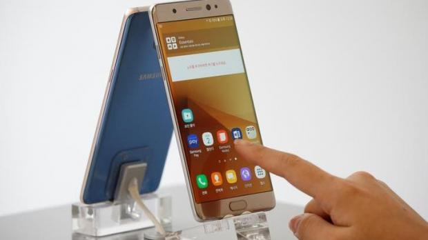 Spark stops sales of Samsung Galaxy Note 7's after global recall