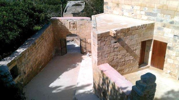 After: The properties, including Tal-Bagħal farmhouse, pictured before and after, were in a dilapidated and very poor state of repair. Mainly for this reason, few visitors were aware of their true historical worth.
