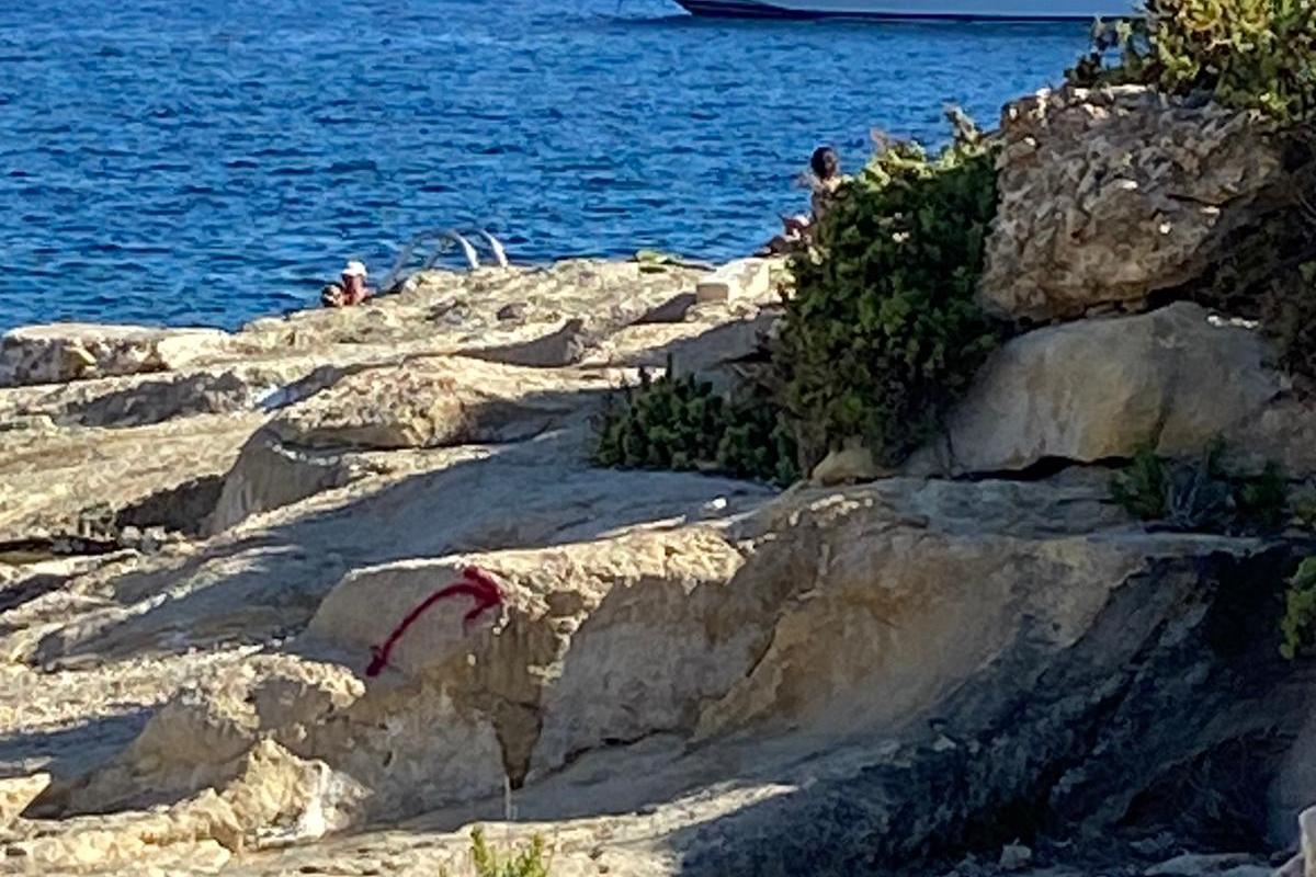 In Għajnsielem. Photo supplied by the Għajsielem council.
