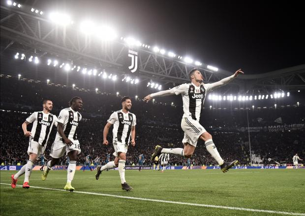 Ronaldo led Juventus to Champions League success on Tuesday. Photo: AFP