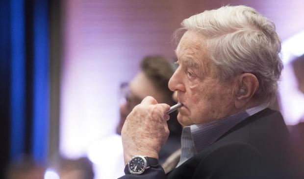 George Soros. Photo: Shutterstock