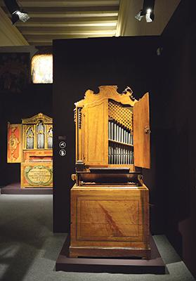 Two 18th-century positive organs