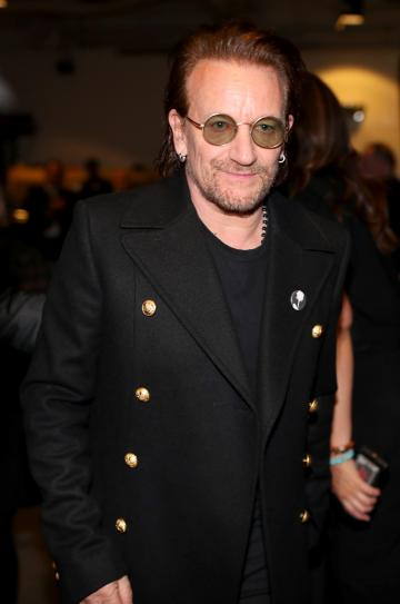 Bono said he wanted to meet the victims in person to apologise. Photo: AFP