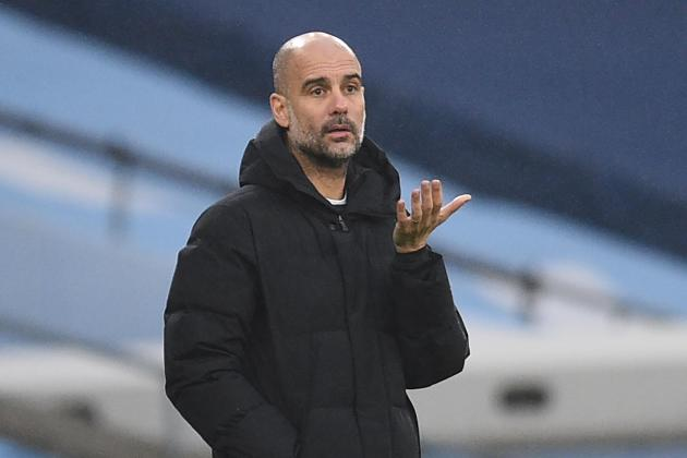 Man. City boss Guardiola confused by football's virus rules