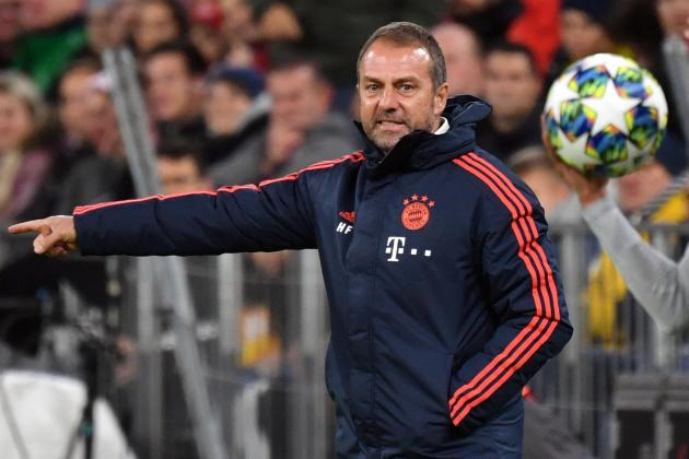 Interim boss Flick 'happy' to steer Bayern through after difficult week