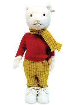 Rupert Bear. Photo: Muscular Dystrophy/PA Wire