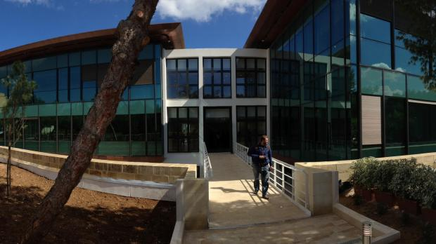 The new ICT building. Picture - Jason Borg