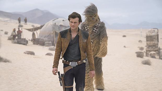 Alden Ehrenreich becomes involved in a dangerous mission in Solo: A Star Wars Story.