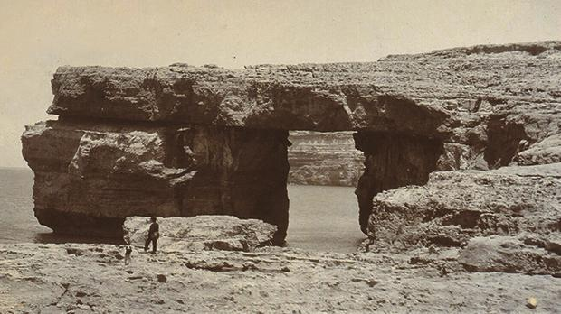 The Azure Window at the turn of the last century, when it still showed little sign of terminal illness.