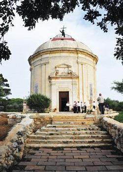 The 500-year-old Santa Marija Tal-Virtù chapel in Tal-Virtù, Rabat.
