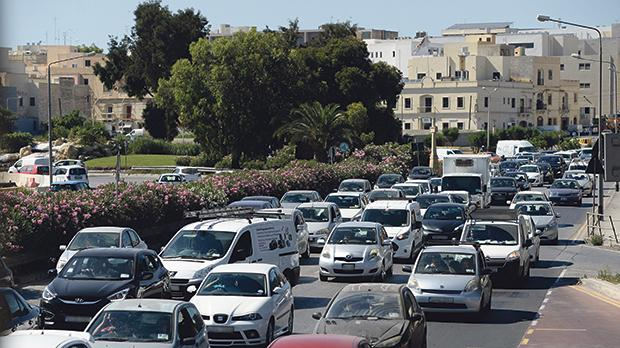 The World Health Organisation has classified noise from road traffic as the second worst environmental stressor affecting human health in Europe. Photo: Matthew Mirabelli