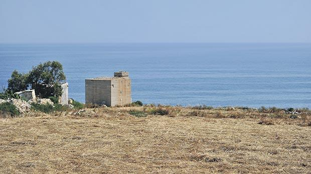 The site between Żonqor and Xgħajra offers interesting historical features for the planned national park.