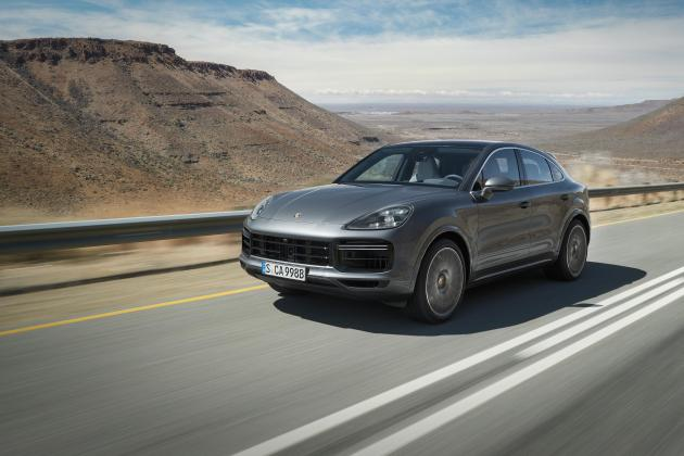 Porsche Cayenne Turbo Coupe hits a sweet spot