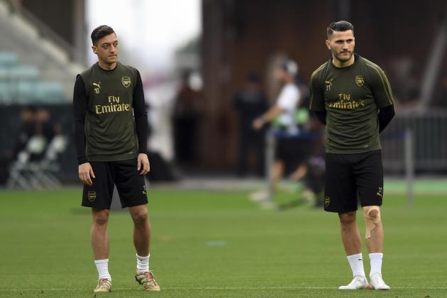 Ozil, Kolasinac in contention for Arsenal return