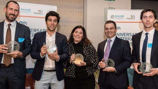 The winners of the various categories including Mr Zammit Lupi (second from right)