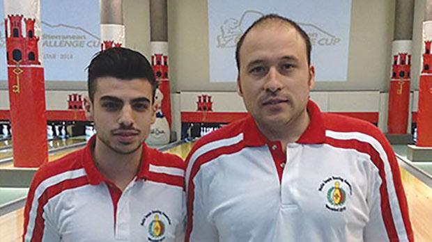 Justin Caruana Scicluna (left) and Neil Sullivan.