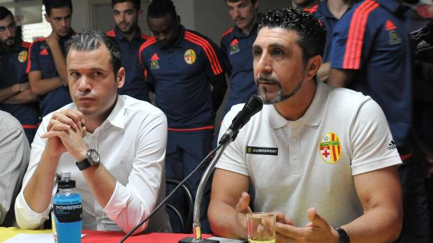 Paul Zammit (right) and Michael Valenzia have both been reconfirmed by Birkirkara FC.