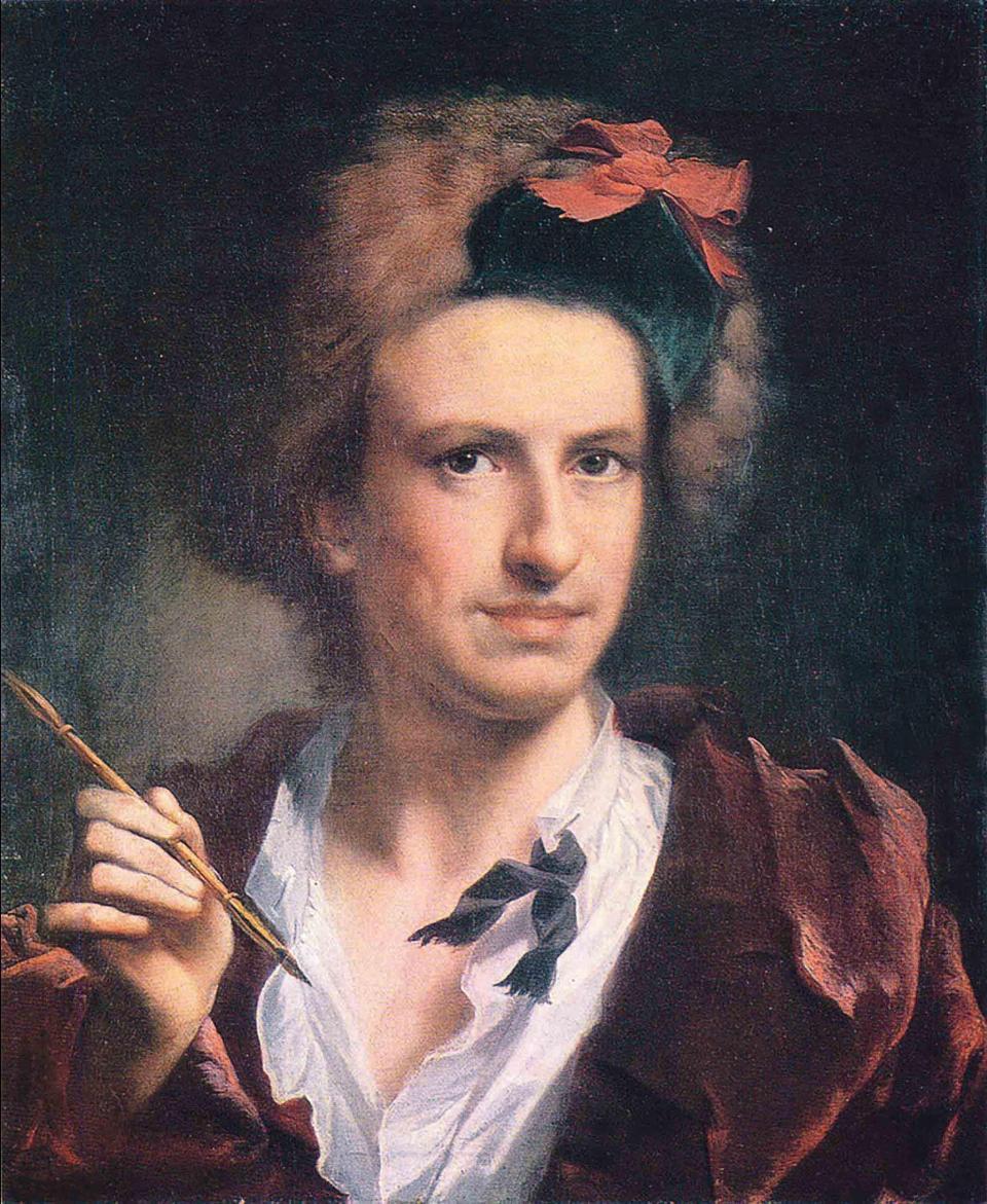 Francesco Bartolozzi, by Anton Raphael Mengs