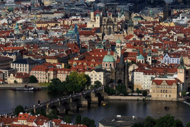 Prague... beautiful, and cheap.