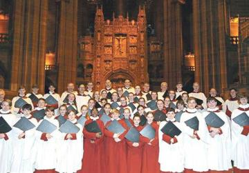 Liverpool Cathedral Choir in concert
