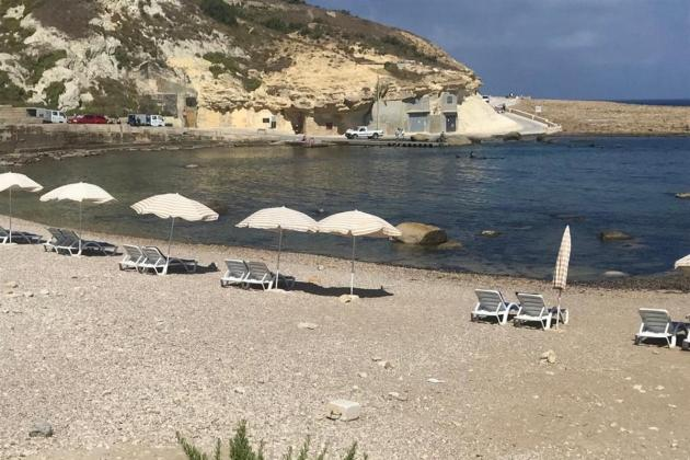 Deckchairs, umbrellas at Mġarr ix-Xini, Xwejni confiscated