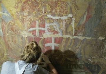 Crowdfunding campaign to restore baroque wall paintings